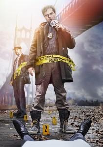 Rainn Wilson as Detective Everett Backstrom (R) and Dennis Haysbert as Detective Sergeant John Almon in BACKSTROM - Season 1 | ©2015 Fox/Frank Ockenfels