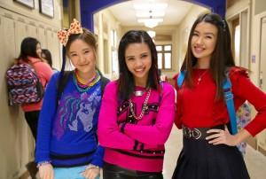 Erika Tham, Megan Lee and Louriza Tronco star in MAKE IT POP | © 2015 Nickelodeon