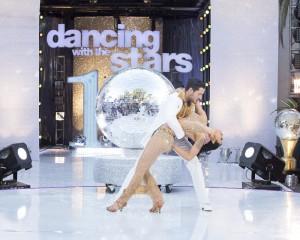 Rumer Willis and Val Chmerkovskiy win DANCING WITH THE STARS - Season 10 | ©2015 ABC/Adam Taylor