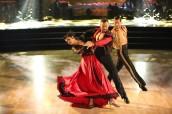 Rumer Willis, Artem Chigvintsev and Val Chmerkovskiy in DANCING WITH THE STARS - Season 10 - Week 8 | © 2015 ABC/Adam Taylor