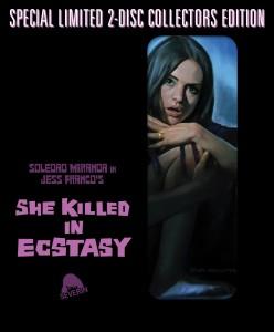 SHE KILLED IN ECSTASY | © 2015 Severin Films