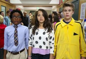 Isabela Moner, Fenwick Frazer and Jaheem Toombs star in 100 THINGS TO DO BEFORE HIGH SCHOOL   © 2015 Robert Voets/Nickelodeon