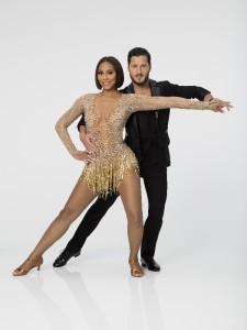 Tamar Braxton and Valentin Chmerkovskiy in DANCING WITH THE STARS - Season 21 | © 2015 ABC/Craig Sjodin
