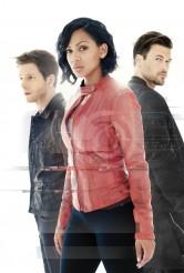 Stark Sands as Dash, Megan Good as Det. Laura Vega and Nick Zano as Arthur in MINORITY REPORT - Season 1 | ©2015 Fox/
