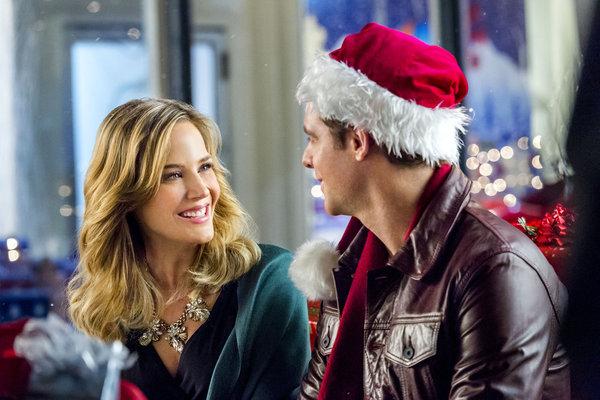 julie benz stars as meredith rossman and david sutcliffe stars as nick in hallmarks charming christmas - Hallmark Christmas 2015