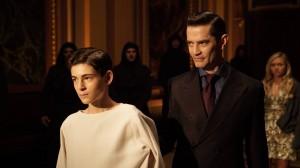 "David Mazouz and James Frain in GOTHAM - Season 2 - ""Worse Than A Crime"" | ©2015 Fox/Nicole Rivelli"