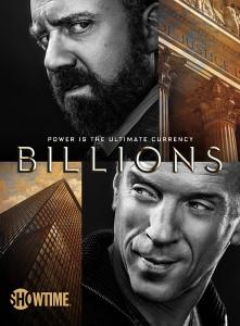 BILLIONS - Season 1 Key Art | ©2016 Showtime