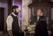 Josh Radnor is Jedediah Foster and Norbert Leo Butz is Dr. Byron Hale in MERCY STREET - Season 1 | ©2016 PBS/Antony Platt