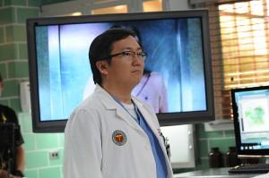 Masa Oka as Dr. Max Bergman in HAWAI FIVE-O   © 2016 Norman Shapiro/CBS