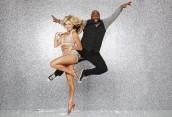 Lindsay Arnold and Wanya Morris in DANCING WITH THE STARS - Season 22 |©2016 ABC/Craig Sjodin