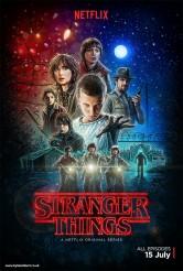 STRANGER THINGS poster   ©2016 Netflix