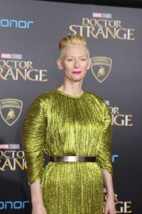 Tilda Swinton at the World Premiere of Marvel Studios DOCTOR STRANGE