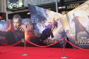 Atmosphere at the World Premiere of Marvel Studios DOCTOR STRANGE
