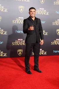 Victor Ortiz at the World Premiere of Marvel Studios DOCTOR STRANGE