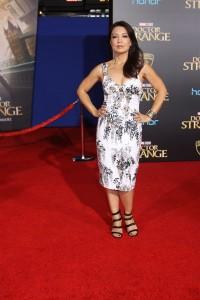 Ming-Na Wen at the World Premiere of Marvel Studios DOCTOR STRANGE
