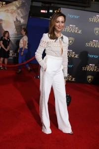 Elsa Zylberstein at the World Premiere of Marvel Studios DOCTOR STRANGE