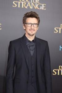 Scott Derrickson at the World Premiere of Marvel Studios DOCTOR STRANGE