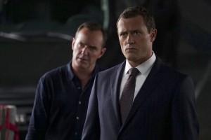 "Clark Gregg and Jason O'Mara in MARVEL'S AGENTS OF S.H.I.E.L.D. - Season 4 - ""The Good Samaritan"" | ©2016 ABC/Eric McCandless"