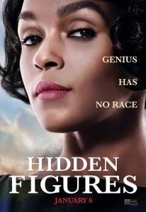 HIDDEN FIGURES movie poster | ©2016 20th Century Fox