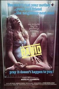 RABID movie poster | ©1977