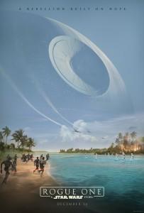 ROGUE ONE: A STAR WARS STORY teaser poster | ©2016 Lucasfilm / Walt Disney Studios