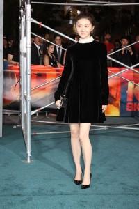 Tian Jing at the Los Angeles Premiere of KONG: SKULL ISLAND