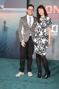 Max Borenstein and Sofiya Goldshteyn at the Los Angeles Premiere of KONG: SKULL ISLAND