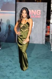Christina Milian at the Los Angeles Premiere of KONG: SKULL ISLAND