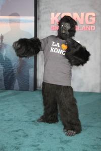 LA Kong at the Los Angeles Premiere of KONG: SKULL ISLAND