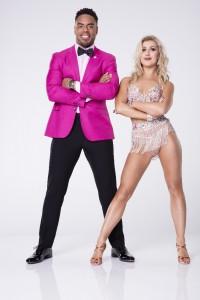 Rashad Jennings and Emma Slater in DANCING WITH THE STARS - Season 24   ©2017 ABC/Craig Sjodin