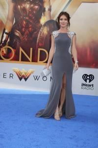 Amy Pemberton at the World Premiere of WONDER WOMAN,