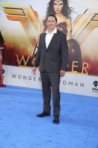 Eugene Brave Rock at the World Premiere of WONDER WOMAN
