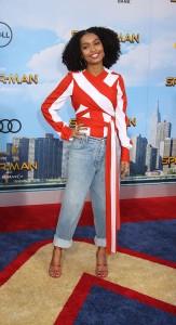 Yara Shahida at the World Premiere of Marvel Studios SPIDER-MAN: HOMECOMING