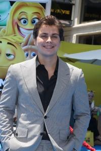Jake T. Austin at the World Premiere of THE EMOJI MOVIE
