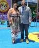 Michelle Raimo Kouyate and Tony Leondis at the World Premiere of THE EMOJI MOVIE
