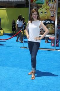 Lisa Loeb at the World Premiere of THE EMOJI MOVIE