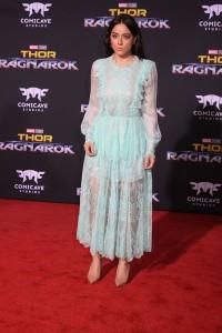 Chloe Bennet at the World Premiere of Marvel Studios' THOR: RAGNAROK