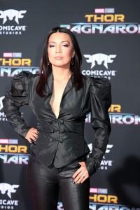 Ming-Na Wen at the World Premiere of Marvel Studios' THOR: RAGNAROK