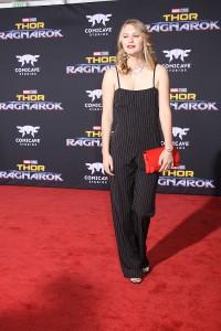 Ryan Simpkins at the World Premiere of Marvel Studios' THOR: RAGNAROK