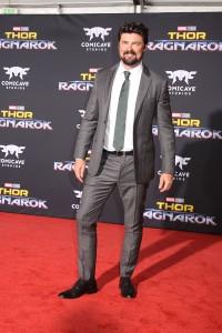 Karl Urban at the World Premiere of Marvel Studios' THOR: RAGNAROK
