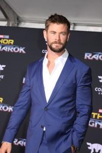 Chris Hemsworth at the World Premiere of Marvel Studios' THOR: RAGNAROK
