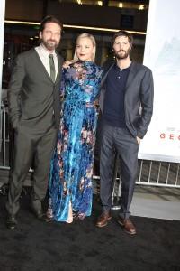 Gerard Butler, Abbie Cornish and Jim Sturgess at the World Premiere of GEOSTORM