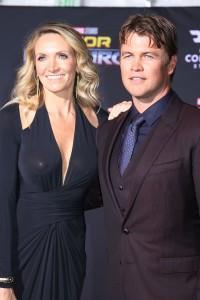 Luke Hemsworth and Samantha Hemsworth at the World Premiere of Marvel Studios' THOR: RAGNAROK