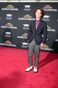 Wyatt Oleff at the World Premiere of Marvel Studios' THOR: RAGNAROK