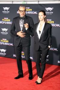 Jeff Goldblum and Emile Livingston at the World Premiere of Marvel Studios' THOR: RAGNAROK