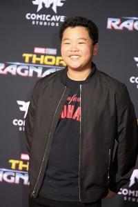 Hudson Yang at the World Premiere of Marvel Studios' THOR: RAGNAROK