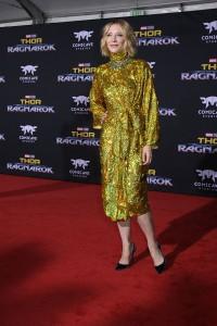 Cate Blanchett at the World Premiere of Marvel Studios' THOR: RAGNAROK
