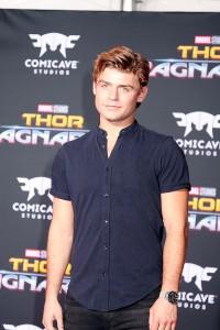 Garrett Clayton at the World Premiere of Marvel Studios' THOR: RAGNAROK