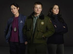 Sandrine Holt, Steve Zahn and Natalie Martinez in THE CROSSING - Season 1 |©2018 ABC/Bob D'Amico