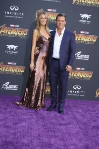 Josh Brolin and Kathryn Boyd Brolin at the World Premiere of Marvel Studios AVENGERS: INFINITY WAR